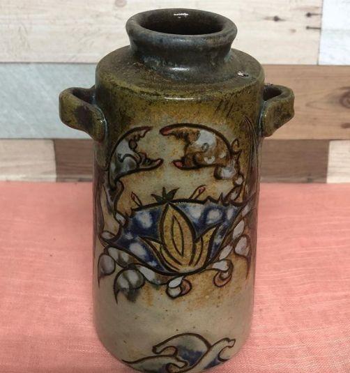 耳付き花瓶:宮城三成作