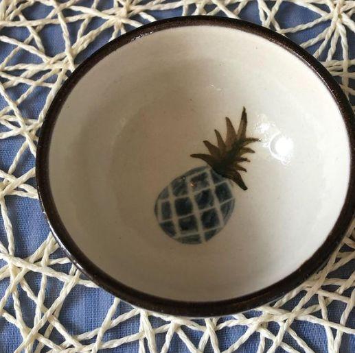 パイナップル小鉢:宮城三成作